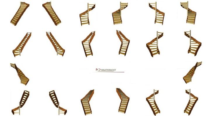 Houten doe het zelf trappen en bouwpakkettrappen van hout for Vlizotrap monteren